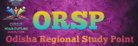 ODISHA REGIONAL STUDY POINT