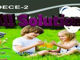 DECE2 ALL SOLUTION
