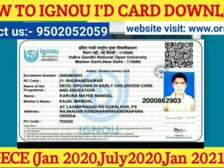 id card dece ignou