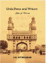 Who is the author of the book Urdu Poets and Writers – Gems of Deccan?