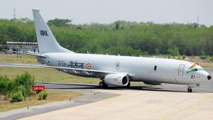 The Indian Navy has received the 10th anti-submarine warfare aircraft P-8I from which company?