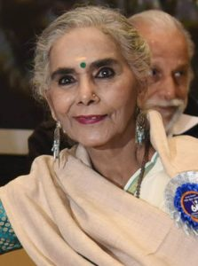 Veteran actor Surekha Sikri passed away recently. She had won the National Award for how many times?