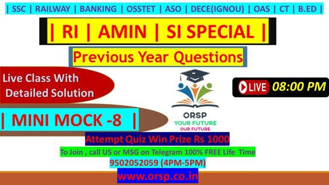 | RI | AMIN | SI SPECIAL | MINI MOCK 8 | ORSP|