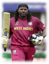 Chris Gayle has become the first batsman to score most runs inT20 cricket. How many runs he has scored?