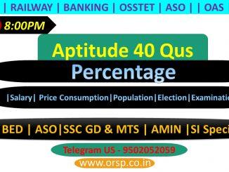 | Percentage Tricks/Shortcuts/Formula | Percentage Problems Tricks and Shortcuts | ORSP |