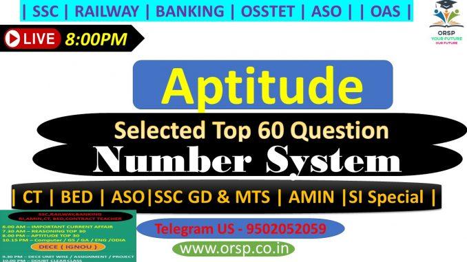   Number System   Shortcut with Tricks   ORSP  